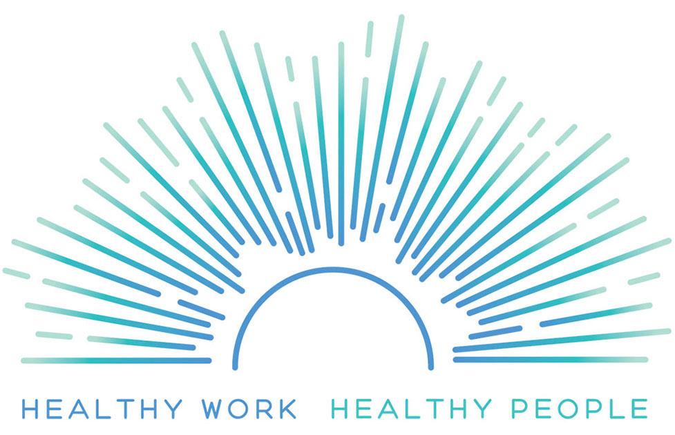 Healthy Work Campaign Logo Icon