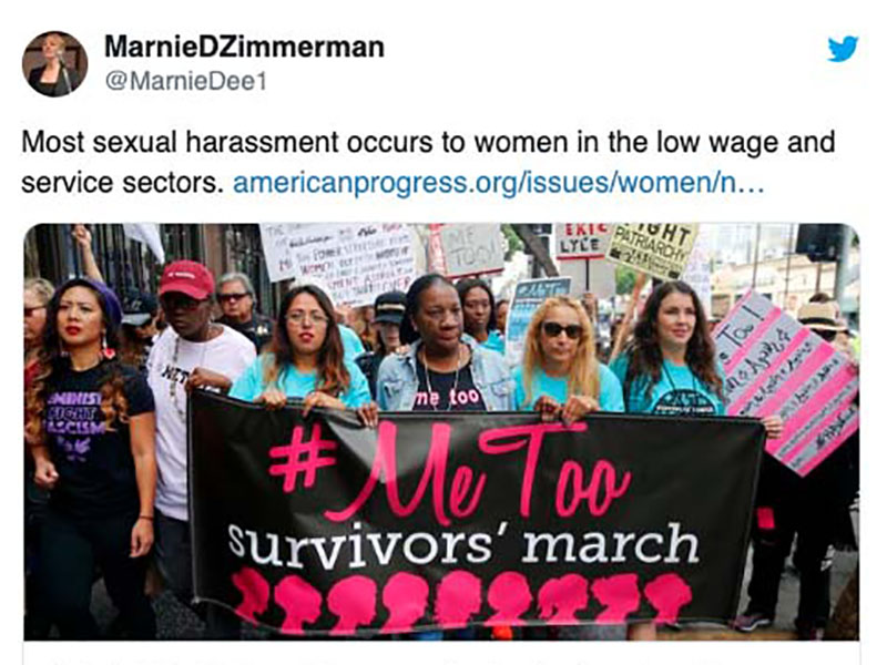 Workplace Sexual Harassment – not just a Hollywood problem